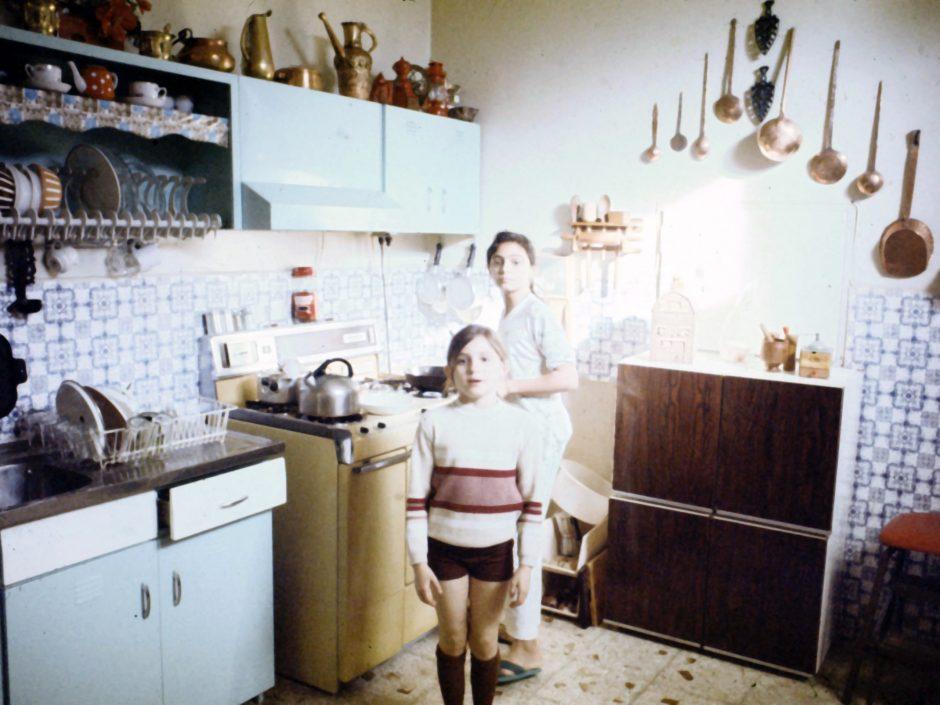 Our Tehran, Iran kitchen in 1976